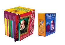 Shakespeare Childrens Stories 20 Books Set with 20 Audio CDs Collection Pack