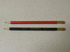 2 Unusual/Rare EBERHARD FABER EFAmatic Mechanical Pencils 0.5mm & 0,7mm GERMANY