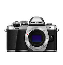 Olympus OM-D E-M10 Mark II Mirrorless Digital Camera  Only Boby - Silver
