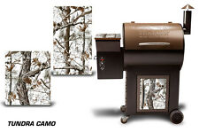 Traeger Smoker Grill Graphic Kit Decal Wrap Skin For Cost Co Century Model TNDRA