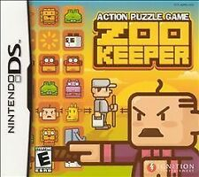 Zoo Keeper (Nintendo DS, 2005) NEW