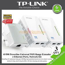 TP-LINK AV500 TL-WPA4220T 300Mbps Powerline Universal WiFi Range Extender
