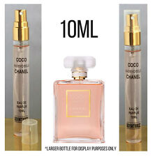Coco Mademoiselle CHANEL Womens EdP 10ml Perfume Sample Glass Travel Purse Spray