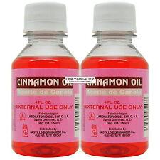 """Cinnamon OIL Aceite De Canela 4 fl. oz. """"Pack of 2"""""""