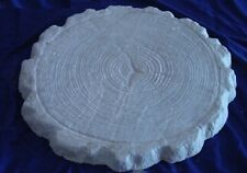 Huge Decorative Log End Concrete or Plaster Garden Stepping Stone Mold 2012