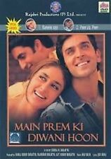 MAIN PREM KI DIWANI HOON *HRITHIK ROSHAN* - ORIGINAL BOLLYWOOD DVD - FREE POST