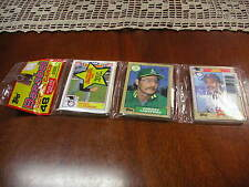 UNOPENED RAK PAK Topps Baseball Cards Roger Clemens, Carney Lansford, #41