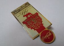 Pin's Coca cola / Jeux olympiques de Rome 1960 (Roma XVIIe olympiad)
