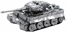 Tiger I Tank: Metal Earth 3D Laser Cut Miniature Model Kit 2 sheets