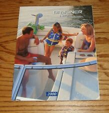 Original 2000 Bayliner Ciera Sales Brochure 00