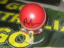 Peter Neville (Australian Test Wicket keeper) signed Red Cricket Ball + COA
