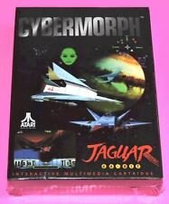 Atari JAGUAR Game CYBERMORPH New SEALED Complete in Box CIB