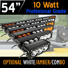 PRO LED Work Light Bar – 300w 54 Inch - 10w CREE LED's 12v,24v,4x4 4WD Offroad