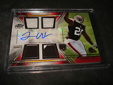 2014 Topps Prime Terrance West Level V Quad Patch Auto RC Browns