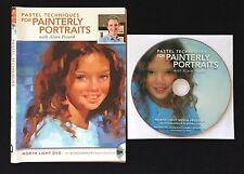 DVD Only! Pastel Techniques for Painterly Portraits With Alain Picard [DVD]