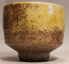 Museum Piece Wayne Ngan Raku Glaze Art Pottery Hand Thrown Signed Bowl COLLECTOR