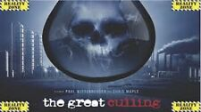 The Great Culling: Our Water, cospiracy/ truth documentary on plain DVD-R