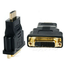 1pc HDMI Male To DVI-D Female 24+1 DVI Converter Adapter for LCD Monitor
