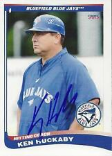 Ken Huckaby 2013 Bluefield Blue Jays Signed Card