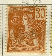 FRENCH INDO-CHINA;  1904 early classic type fine Mint unused 30c. value
