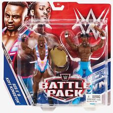 WWE Mattel Battle Packs 43 Kofi Kingston Big E NEW DAY ROCKS TAG CHAMPS RARE NEW