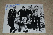 SEX PISTOLS signed Autogramm In Person 20x25 cm JOHNNY ROTTEN & GLEN MATLOCK !!
