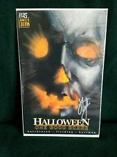 H25 HALLOWEEN One Good Scare Comic Michael Myers *Rare* Hutchinson Autograph