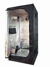 NEW 60X60X140 Grow Tent Bud Dark Green Room Hydroponics Box Mylar Silver Cheap