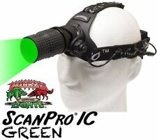 Wicked Lights ScanPro IC GREEN LED Night Hunting Headlamp for Coyotes Hogs Foxes