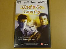 DVD / SHE'S SO LOVELY ( SEAN PENN, ROBIN WRIGHT PENN, JOHN TRAVOLTA )
