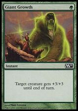 1x FOIL Giant Growth M11 MtG Magic Green Common 1 x1 Card Cards