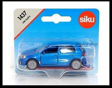 Siku 1437 VW Volkswagen GOLF 6 Diecast car gift Scale About 1/64 New BLUE
