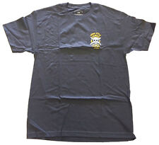 Fourstar Zig Zag Sample Men's Charcoal Grey T-shirt - Large (LIMITED EDITION)