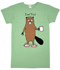"Hatley Products ""Dam tired"" beaver nightshirt beachshirt"