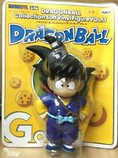 Bandai Banpresto Dragon Ball Z soft Vinyl figure 5 inches Teenager Goku Son blue