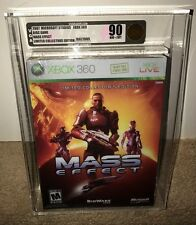 Mass Effect LIMITED COLLECTORS EDITION VGA 90 GOLD! MINT CLASSIC RPG! Xbox 360