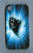 CAROLINA PANTHERS 1 Piece Glossy Case / Cover for iPhone 4 / 4S (Design 4)