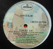 "12"" US ** Kurtis Blow-Starlife/WAY out West (Mercury Limited Edition) ** 16513"