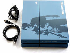 PLAYSTATION 4 KONSOLE 1TB LIMITED UNCHARTED 4 EDITION PS4 1000 GB Design blau