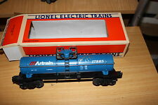Lionel  O gauge #6- 17885 single dome Tank car new road Artrain NIB