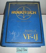 Robotech Macross Masterpiece Collection Vol. 1 Rick Hunter VF-1J w/ Cel EUC!