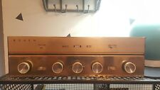 Vintage Bogen Tube Stereo Integrated Amplifier Receiver DB212 Gold Face