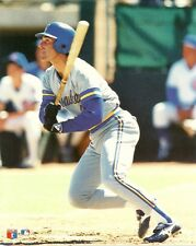 PAUL MOLITOR 8x10 PHOTO (Action Shot @ Spring Training) MILWAUKEE BREWERS #4 HOF