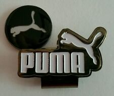 Brand New Gun Metal Black and White Puma Golf Ball marker with hat clip!!
