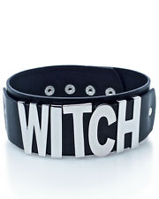Killstar Goth Gothic Occult Oversize Witch Max-to-Max Choker Faux Leather Pagan
