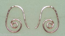 Small 15mm Fancy INTERCHANGEABLE Earring Wires 14K ROSE Gold Filled