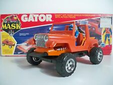 K1653111 GATOR M.A.S.K. MASK 100% COMPLETE IN BOX MIB STYLE ORIGINAL VINTAGE