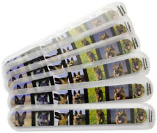 Fetch for Pets German Shepherd Nail Files 6-Pack Emery Boards Dog Puppy Animal