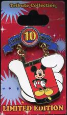 Mickey Mouse Cell Phone LE Disney Pin Trading 10th Anniversary Tribute 78066