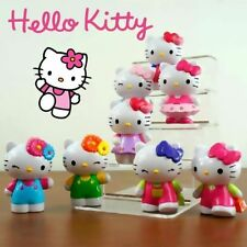 8Pcs Kitty Cat Action Figure Mini Figurines Display Toy Cake Topper Decor Gift